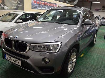 begagnad BMW X3 xDrive20d Euro 6 190hk