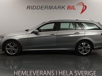 begagnad Mercedes E220 BlueTEC BE Skinn Navi Nyservad 170hk