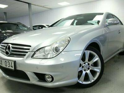 begagnad Mercedes 500 CLS Benz7G-Tronic 1 ägare SUPER SKICK 2005, Sportkupé Pris 139 800 kr