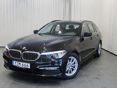 begagnad BMW 520 dA xDrive Touring Dragkrok, Navigat -18