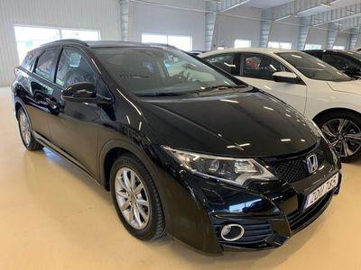 begagnad Honda Civic Tourer 1,6 Elegance ADAS SKATTEBEFRIAD