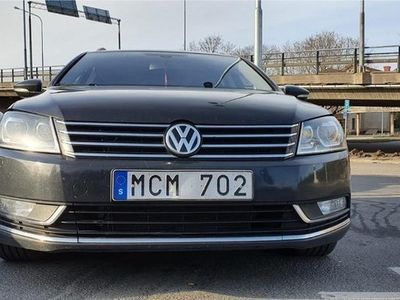 begagnad VW Passat 2.0 TDI 4Bluemotion