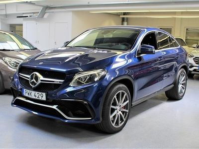 begagnad Mercedes GLE63 AMG AMGS 4MATIC Coupé 585hk