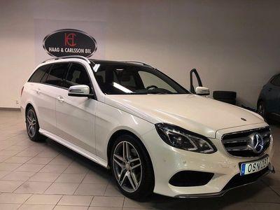 begagnad Mercedes E250 4matic, AMG, D-Värmare, Skinn