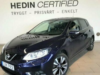begagnad Nissan Pulsar N-Connecta 1.2 Safety LED 2017, Kombi Pris 119 900 kr
