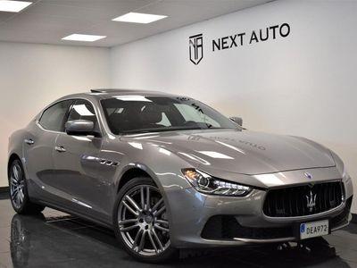 begagnad Maserati Ghibli 3,0 DIESEL 275HK SV-SÅLD