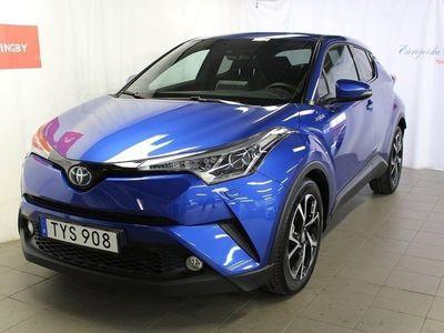 begagnad Toyota C-HR 1.8 HSD X-Edition/Skinn/JBL/580mil