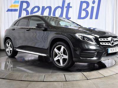 begagnad Mercedes 200 GLA BenzAMG GPS Parkeringsvärmare 2019, Halvkombi 319 500 kr