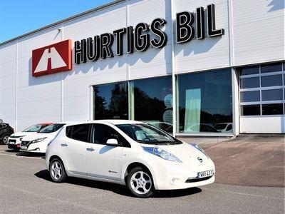 begagnad Nissan Leaf 30kwh Acenta 100 % EL *Vinterhjul