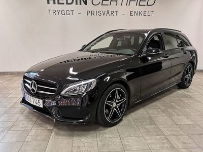 begagnad Mercedes C200 D 7G-Tronic Plus // AMG Line // Night Package