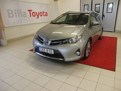 begagnad Toyota Auris Touring Sports Hybrid Elhybrid Edition 50 136 Hk