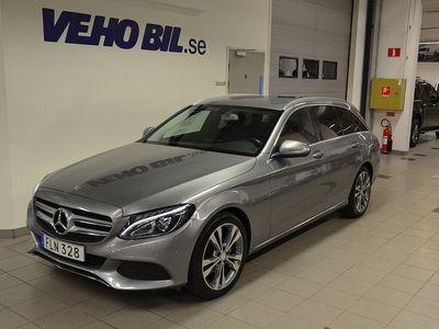 begagnad Mercedes C220 d, Drag, Panelbelysning