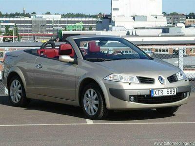 begagnad Renault Mégane Cabriolet Phas II 2.0T 163hk Skinn Sv-såld