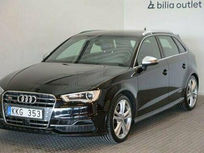 begagnad Audi S3 2.0TFSI Quattro Bang Olufsen Navi 2014, Halvkombi Pris 259 900 kr