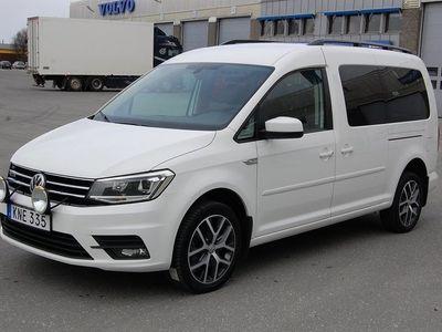 käytetty VW Caddy Maxi Life TDI 150 4-M Aut 7-Sits Comfort Värmare