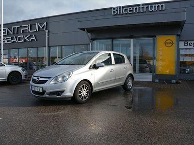 begagnad Opel Corsa 5-dörrar 1.2 Twinport 80hk, AC, Vinterhjul