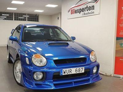 begagnad Subaru Impreza WRX 2.0 4WD 225hk Låg Mil