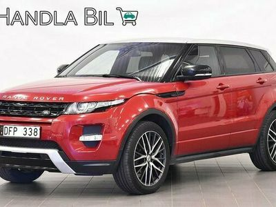 begagnad Land Rover Range Rover evoque Range Rover 2.2 SD4 4WD Panorama Navi 2013, SUV Pris 229 900 kr