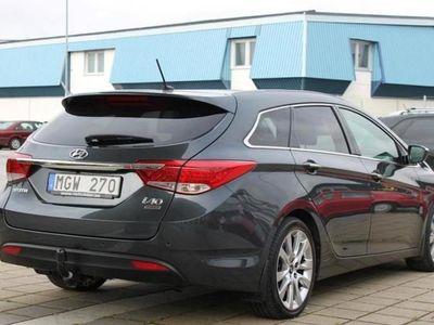 begagnad Hyundai i40 1.7 CRDi Sport Kombi Drag Navi