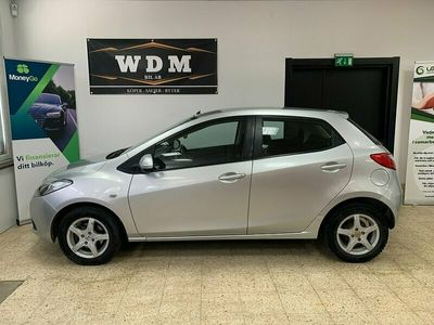 begagnad Mazda 2 5-dörrar 1.3 MZR 75h Euro 6 0:-kr kontant