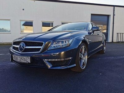 begagnad Mercedes CLS63 AMG AMG Speedshift MCT 557hk