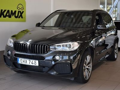 begagnad BMW X5 xDrive30d Steptronic 258hk M-sport D-värm Navi Backkamera Drag Hemleverans