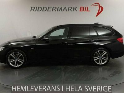 begagnad BMW 320 d Touring Sport line Eu6 190hk Drag HiFi Pdc