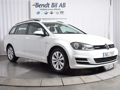 begagnad VW Golf Kombi skattebefriad 1.6 TDI 110hk