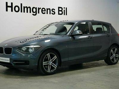 begagnad BMW 118 d Sport Line 143hk 5d PDC Farthållare