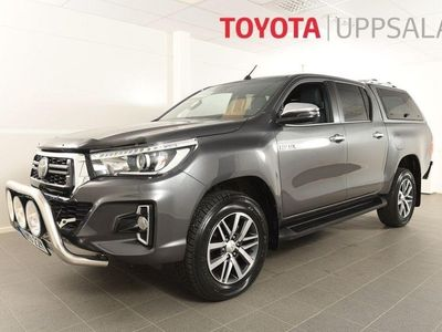 begagnad Toyota HiLux 2,4D Aut 4wd S&S Ultimate Kåpa s