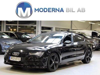 begagnad Audi A7 Sportback 3.0 TDI 320HK MOMS Q S-LINE DRAG/NAVI/TAKLUCKA/H-U-D