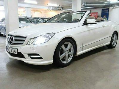begagnad Mercedes E200 Cabriolet 7G-Tronic AMG AUKTION