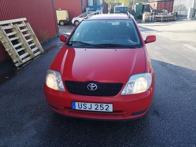 begagnad Toyota Corolla Kombi 1.6