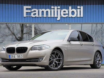 begagnad BMW 525 525 d Sedan (204hk) Auto/BBS/Drag/Sv-Såld