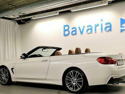 begagnad BMW 430 i Cabriolet Cabrio M-Sport H/K Ljud Nav Komfortöppning