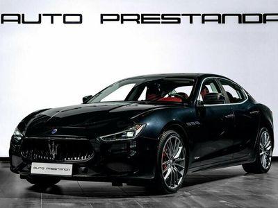 begagnad Maserati Ghibli SQ4 GranSport 430hk Carbon Kit Svensksåld