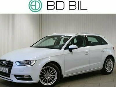begagnad Audi A3 Sportback 2.0TDI QUATTRO M-VÄRM DRAG EU6 2015, Halvkombi Pris 144 900 kr