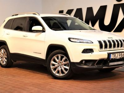 begagnad Jeep Cherokee 2.2 CRD 4WD Limited 200hk
