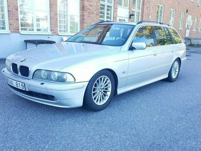 begagnad BMW 525 i Touring Automat GPS 2001