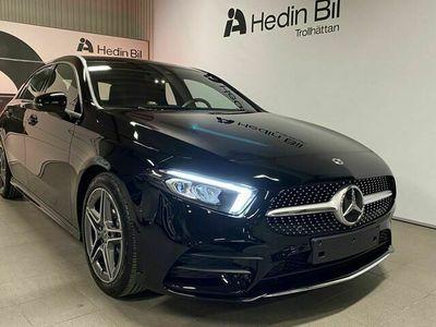 begagnad Mercedes A200 - Benz/ AMG / LAGERBIL / WIDESCREEN / OMGÅENDE LEVERANS