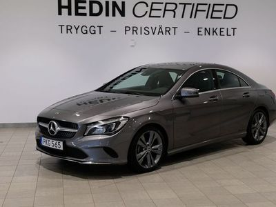 brugt Mercedes CLA200 d 7G-DCT, 136hk, 2017