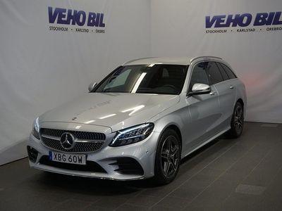 begagnad Mercedes C200 Kombi AMG Aut Värmare Backkamera Navi Drag
