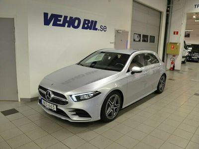begagnad Mercedes A200 A Benzd AMG Line 2020, Halvkombi 309 000 kr