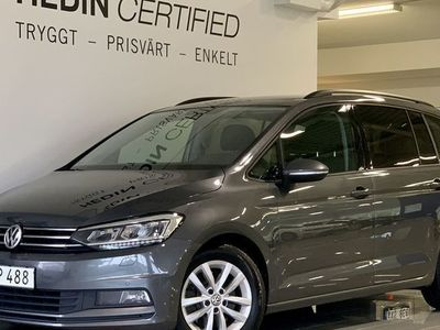 begagnad VW Touran 1.6 tdi Drag Nav 115hk
