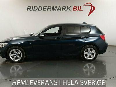 begagnad BMW 118 d 5dr, F20 (143hk) Sport line