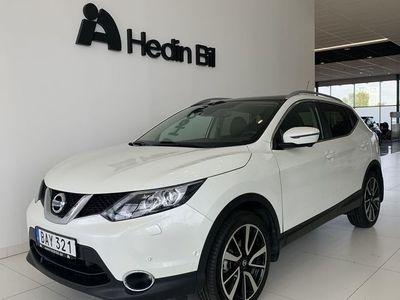 "begagnad Nissan Qashqai TEKNA 2WD Man DESIGN PACK 19"" // Panorama // V-Hjul"