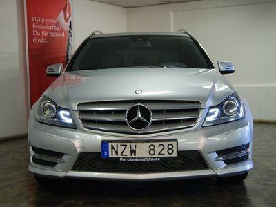 begagnad Mercedes C220 CDI AMG NAVI DRAG 6700MIL