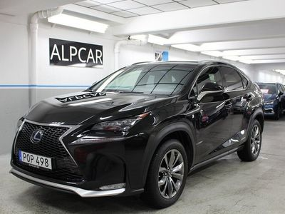 begagnad Lexus NX300h F-SPORT LÄDER GPS DRAG