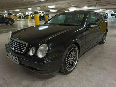 begagnad Mercedes CLK320 Coupé Automat Elegance, NY BESIKTAD