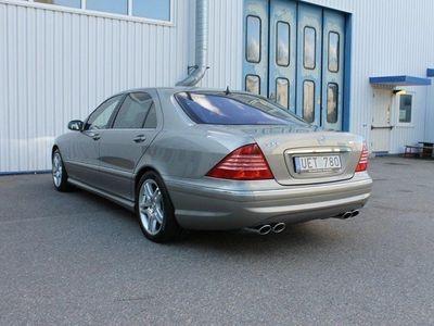 begagnad Mercedes S55 AMG SAMG spec edision v-max 5 -04